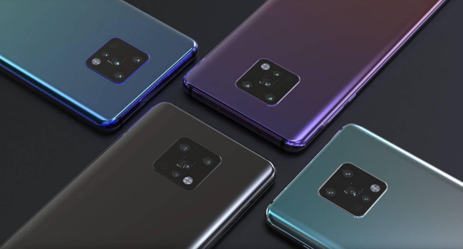 Huawei MATE 30 PRO camera penta