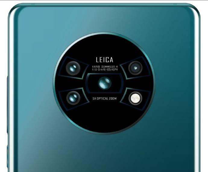 Huawei MATE 30 PRO extraterestru imagine camera