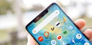 Huawei MATE 30 PRO imagine cu ecanul decupat mic