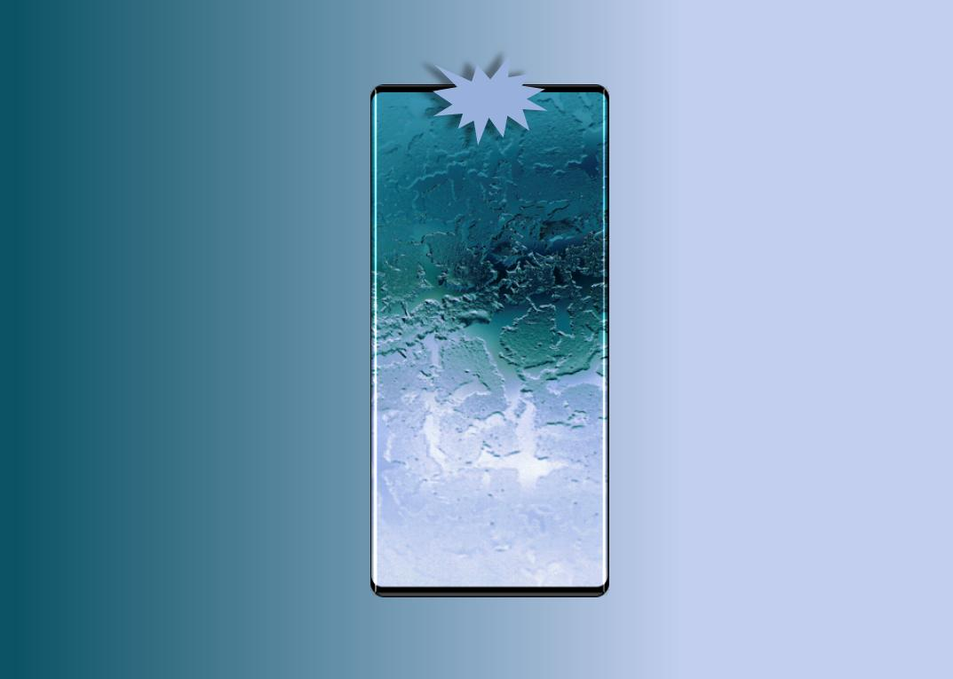 Huawei MATE 30 PRO imagine design ecran
