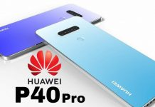 Huawei P40 PRO camera tof