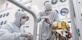 NASA robot marte