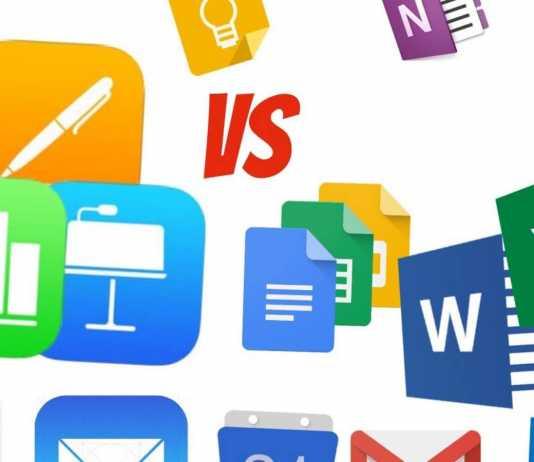 Office 365 Google Docs iWork INTERZISE Germania