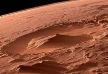 Planeta Marte imagini racheta transport astronauti