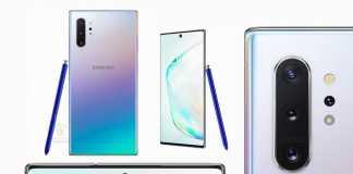 Samsung GALAXY NOTE 10 Plus RECORD ULUITOR pentru Ecran margini