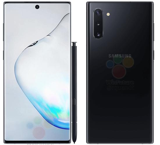 Samsung GALAXY NOTE 10 imagini oficiale telefon