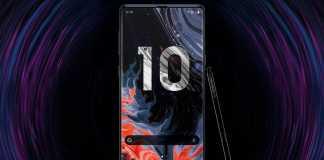 Samsung GALAXY Note 10 difuzor