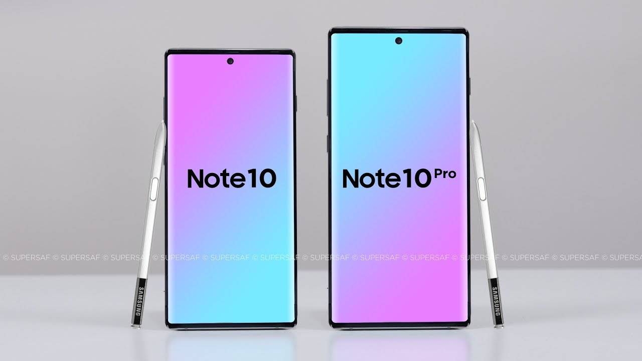 Samsung GALAXY Note 10 invitatie