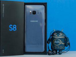 Samsung GALAXY S8 update
