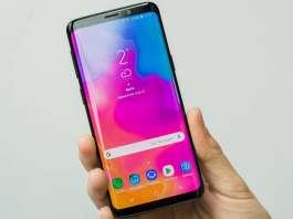 Samsung GALAXY S9 camera failed night mode