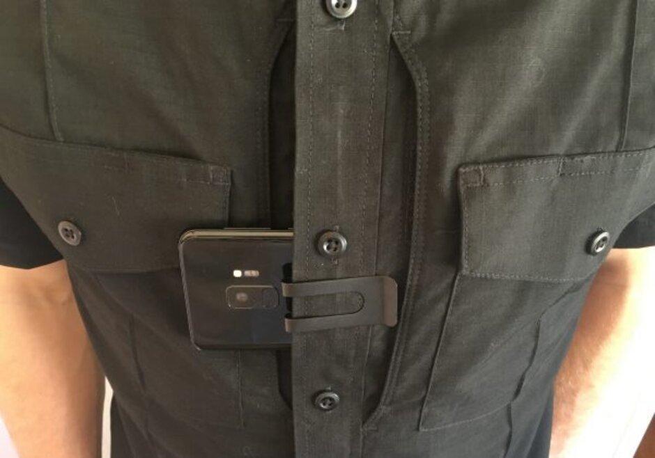 Samsung GALAXY S9 politie camera