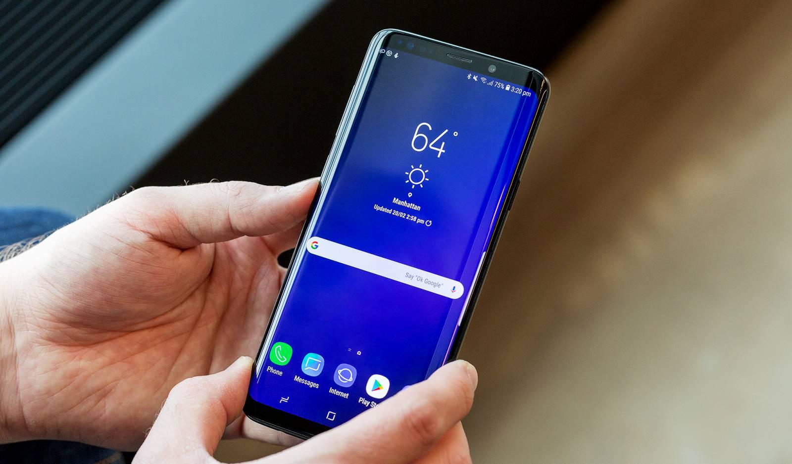 Samsung GALAXY S9 politie