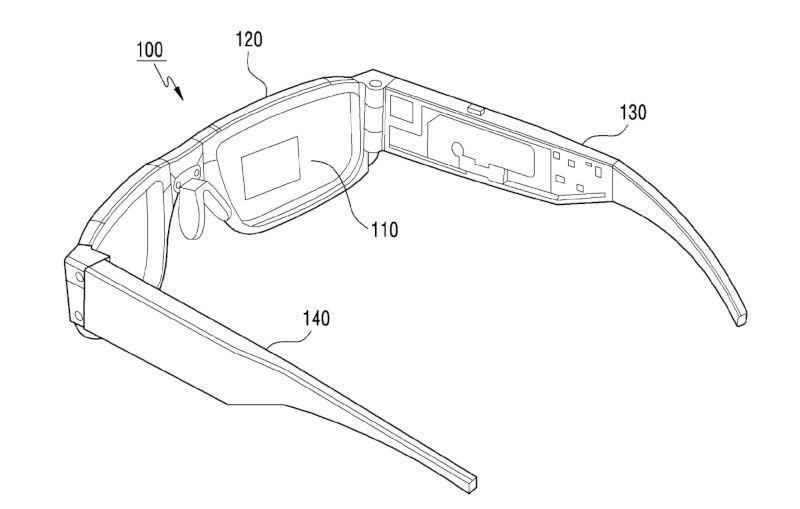 Samsung ochelari pliabili realitate augmentata