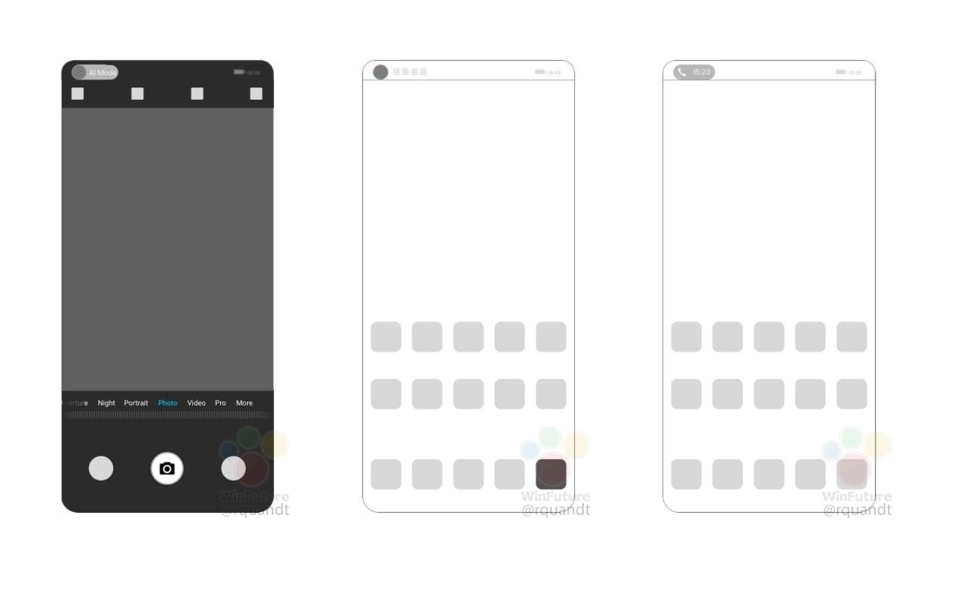 Telefoane Huawei camera ecran
