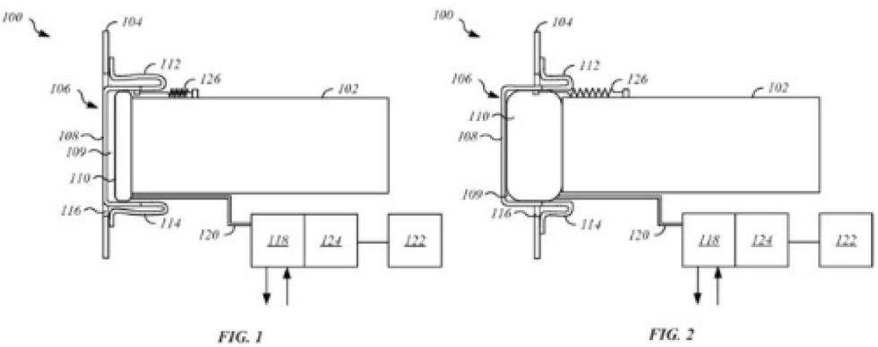 apple masina bara retractabila brevet inventie