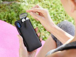 carcasa iphone incarca airpods
