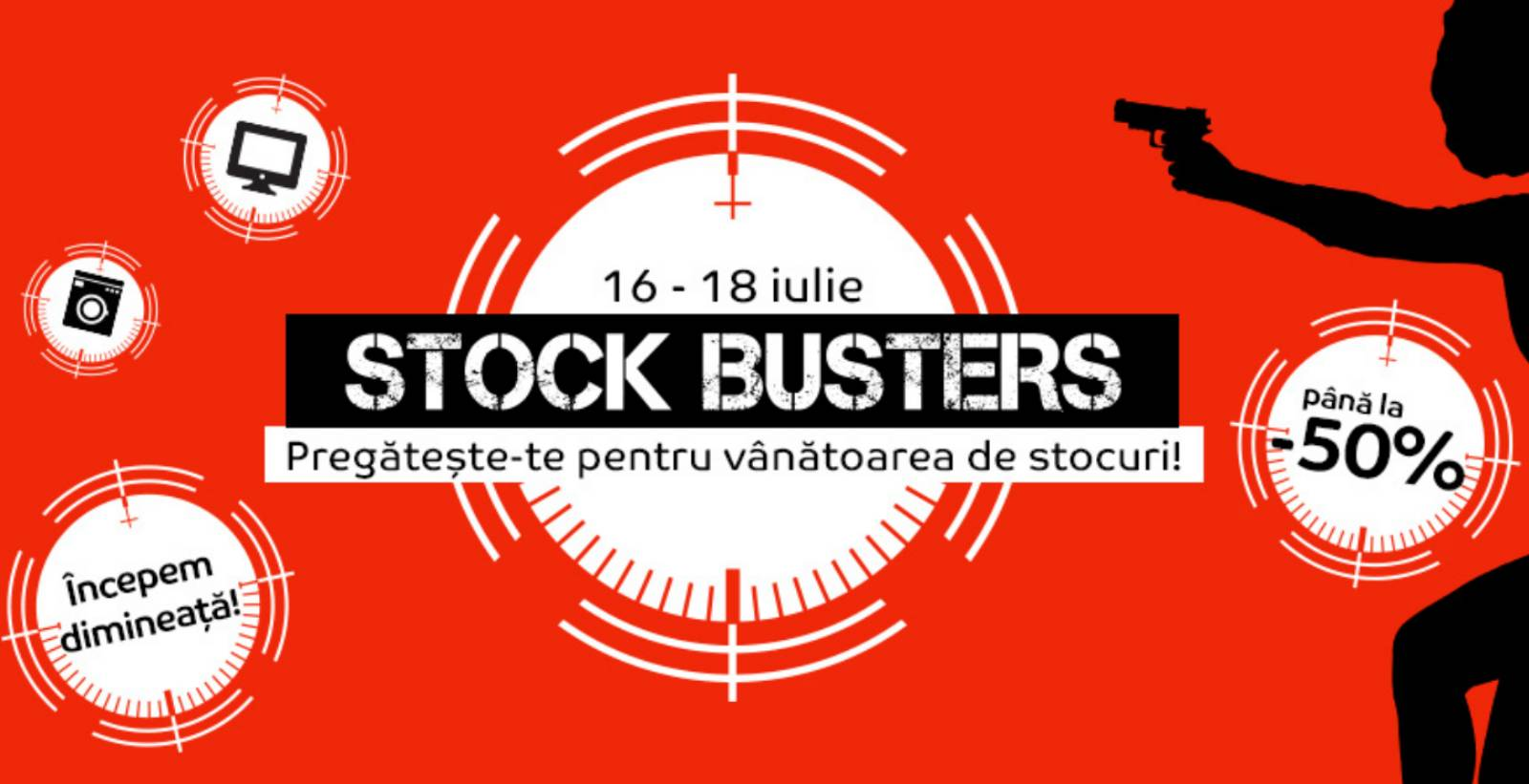 emag stock busters reduceri 16 iulie