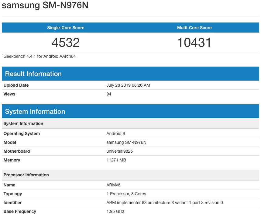 iPhone XS va DEPASI Tehnologic Samsung GALAXY NOTE 10 Plus performante