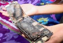 iphone 6 EXPLODAT MANA Fetite 11 ANI