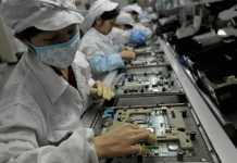 iphone furt componente productie