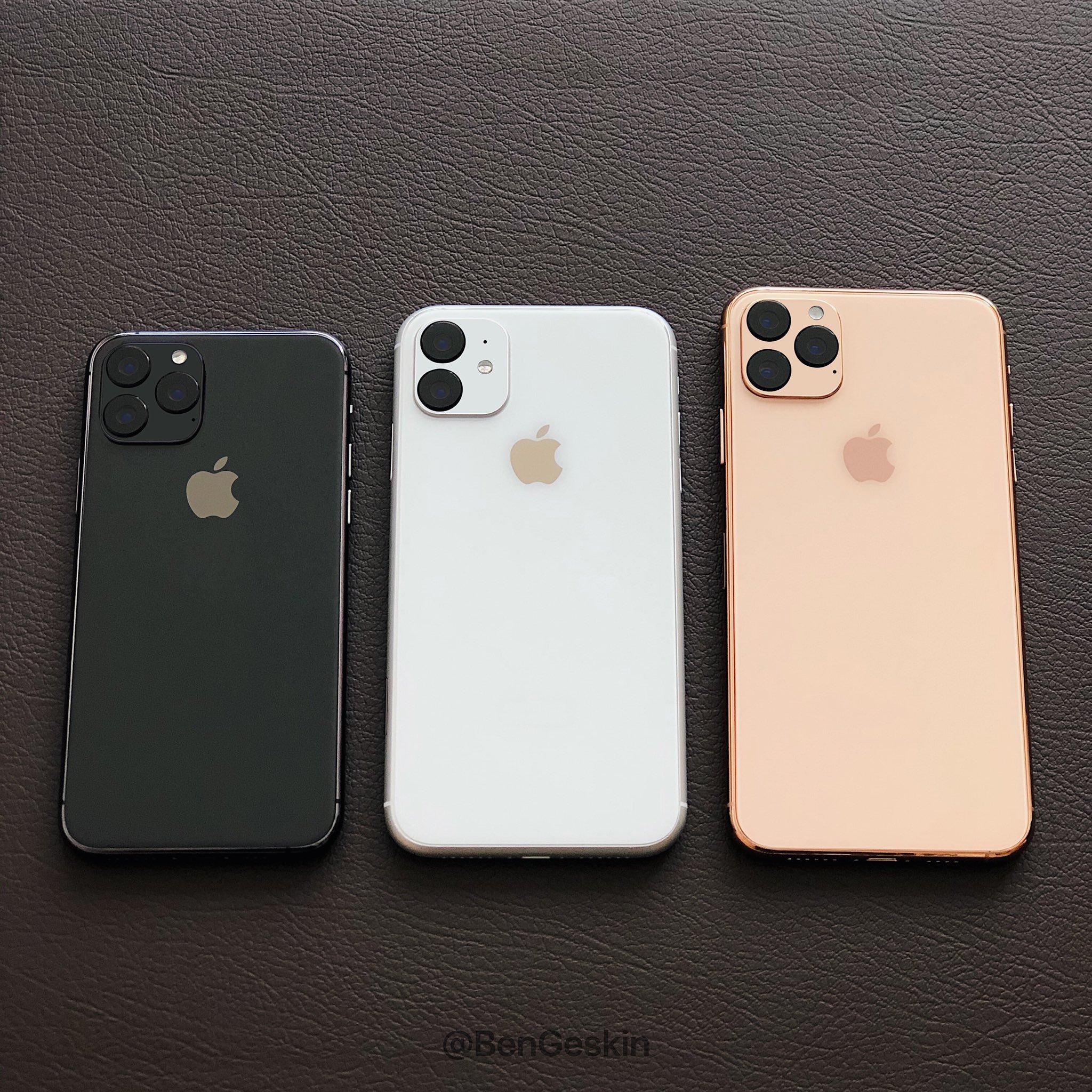 ASA va ARATA iPhone 11 in Versiunea FINALA pentru Clienti machete