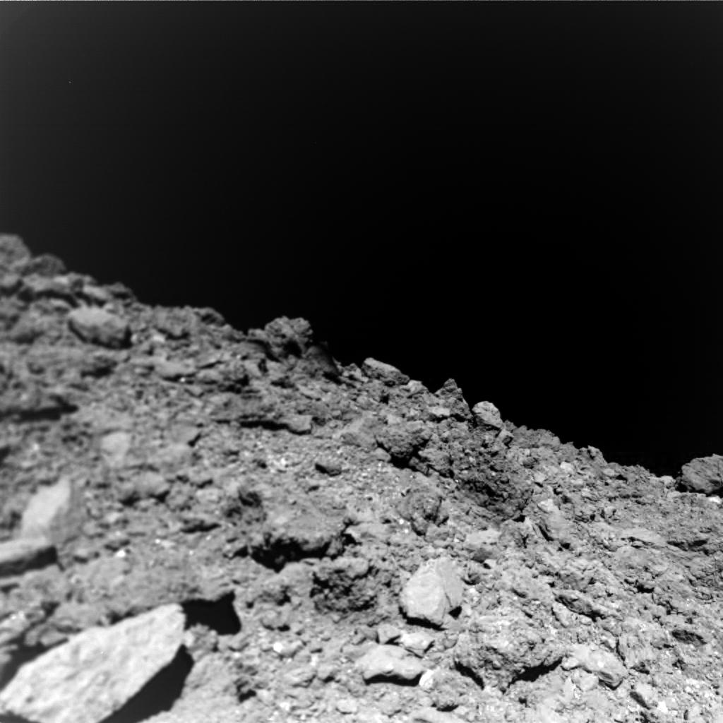 Asteroid. Imagini ULUITOARE Facute in PREMIERA pe o Roca Spatiala culori