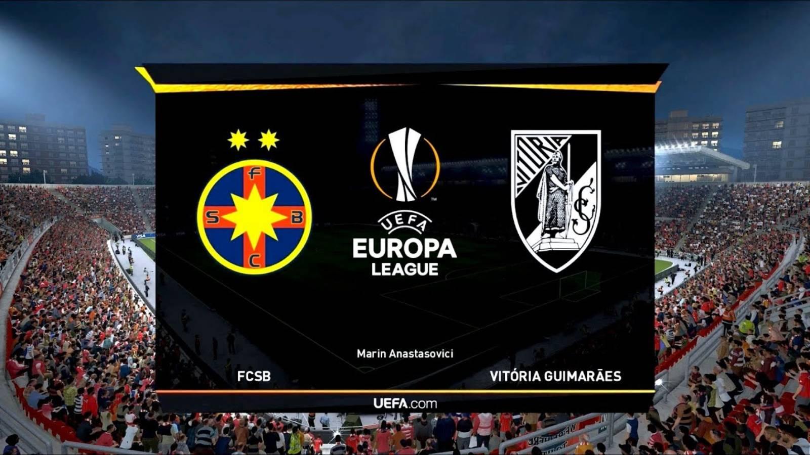 FCSB - VITORIA GUIMARAES LIVE PRO TV FOTBAL EUROPA LEAGUE