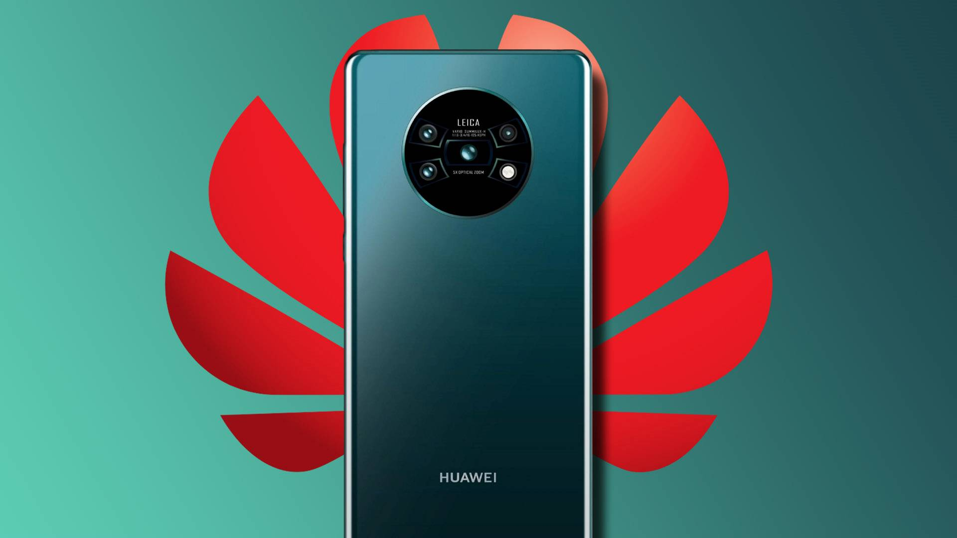 FOTO. Huawei MATE 30 PRO Prezent in PRIMA Imagine de Presa