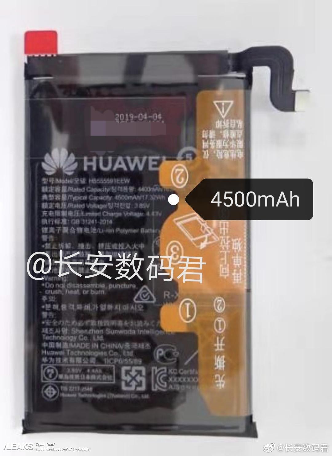 Huawei Mate 30 Pro baterie 4500 mAh