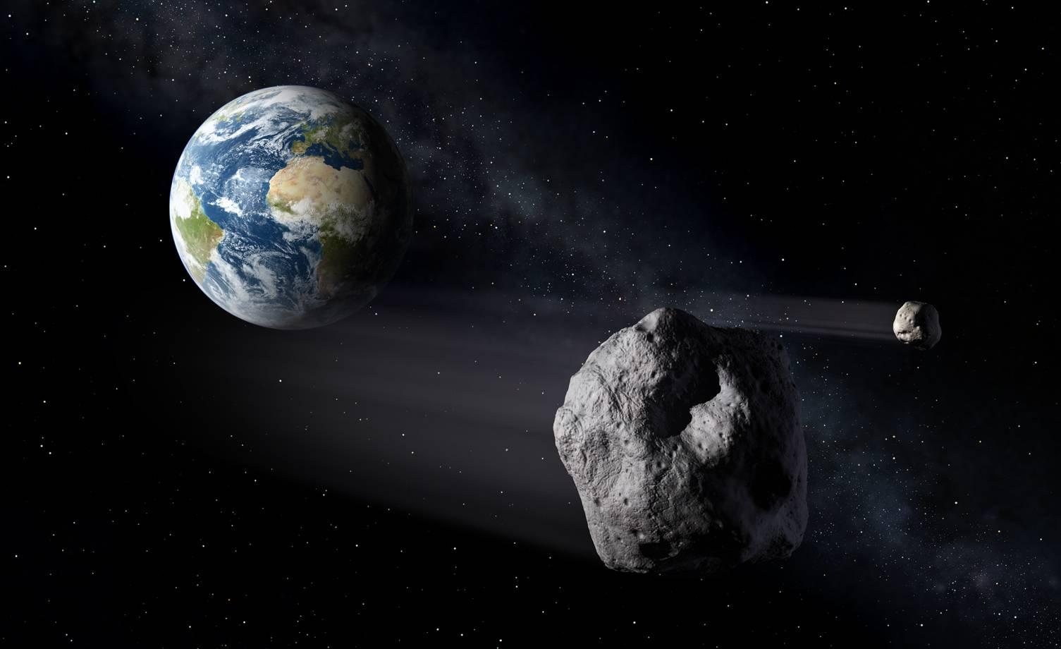 NASA. AVERTIZARE, DOI ASTEROIZI Uriasi ASTAZI Aproape de Pamant
