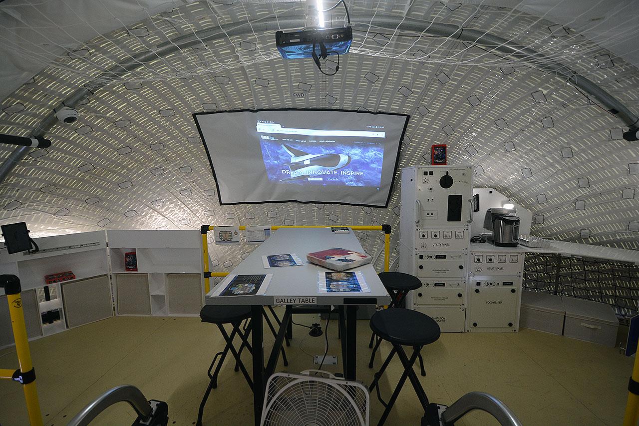 NASA. VIDEO INCREDIBIL cu Noul Habitat pentru Astronauti camera