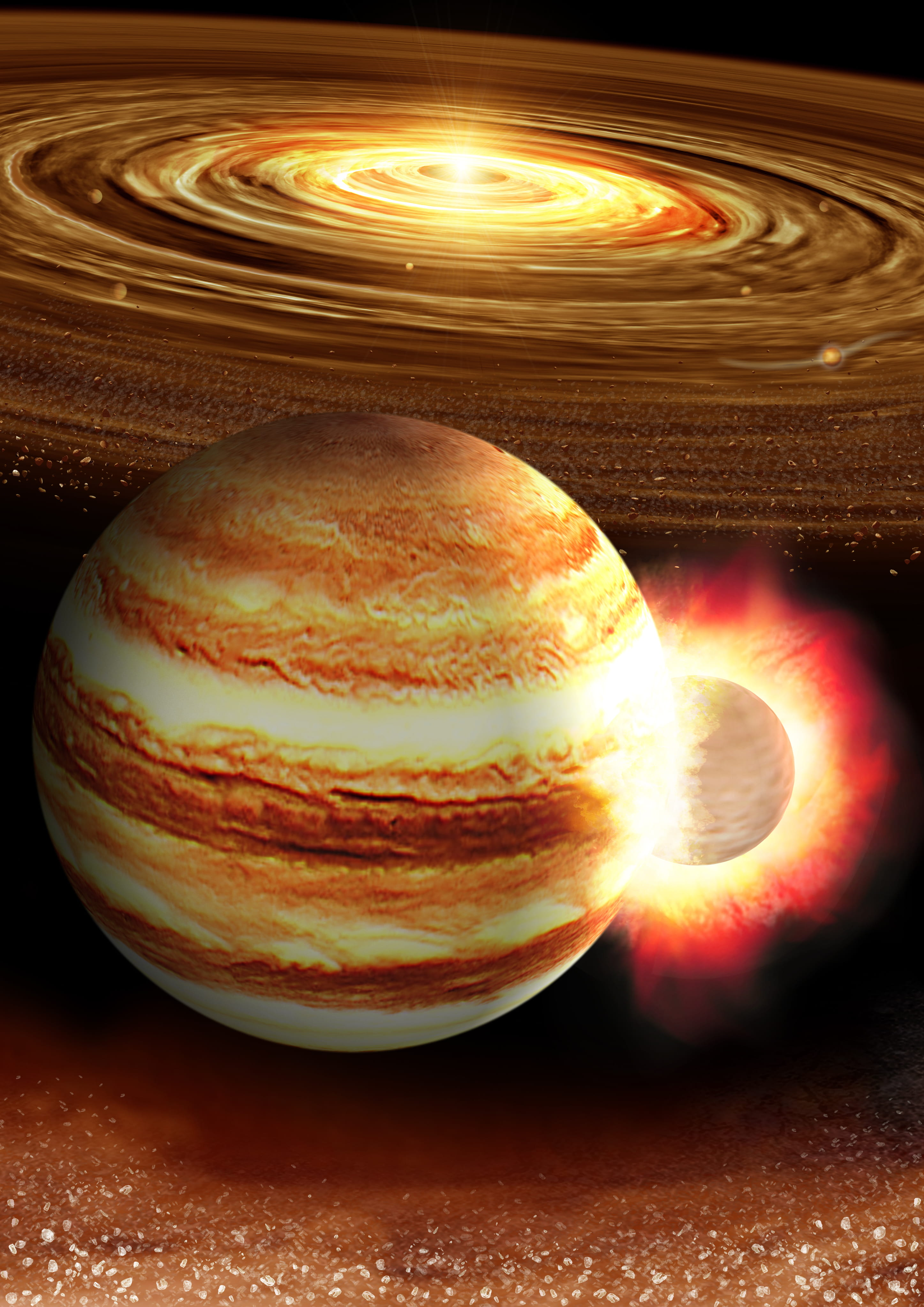 Planeta Jupiter. Anunt HALUCINANT ce a CUTREMURAT Internetul coliziune