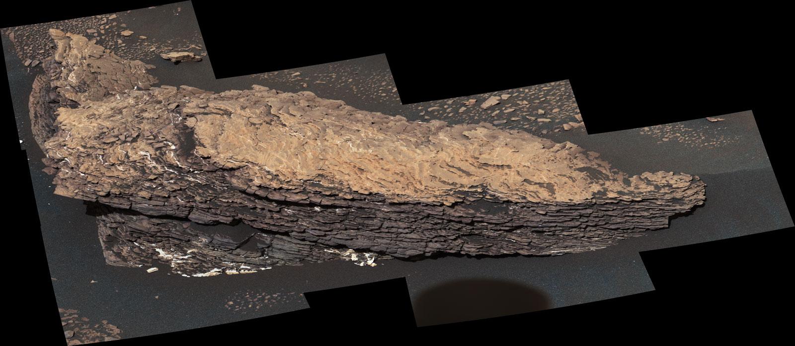 Planeta Marte. INTREAGA Lume ULUITA de Noua Imagine a NASA roca