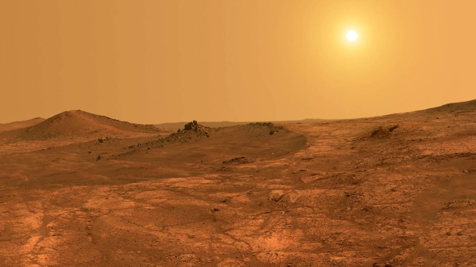 Planeta Marte. INTREAGA Lume ULUITA de Noua Imagine a NASA