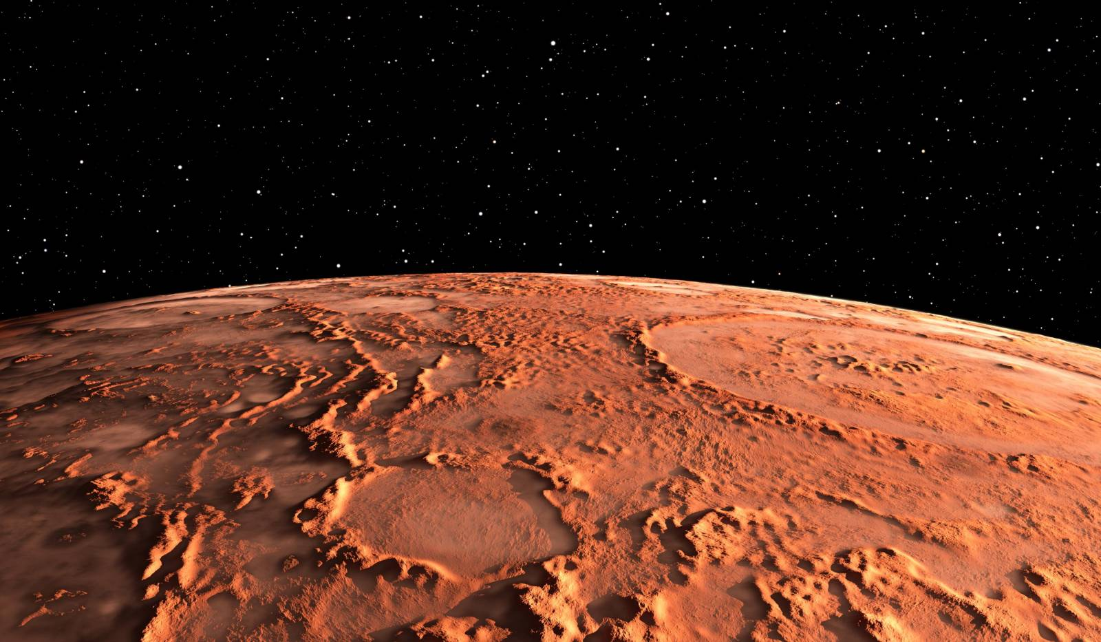 Planeta Marte. Imaginea ce a EXPLODAT pe Internet si a SPERIAT Oamenii