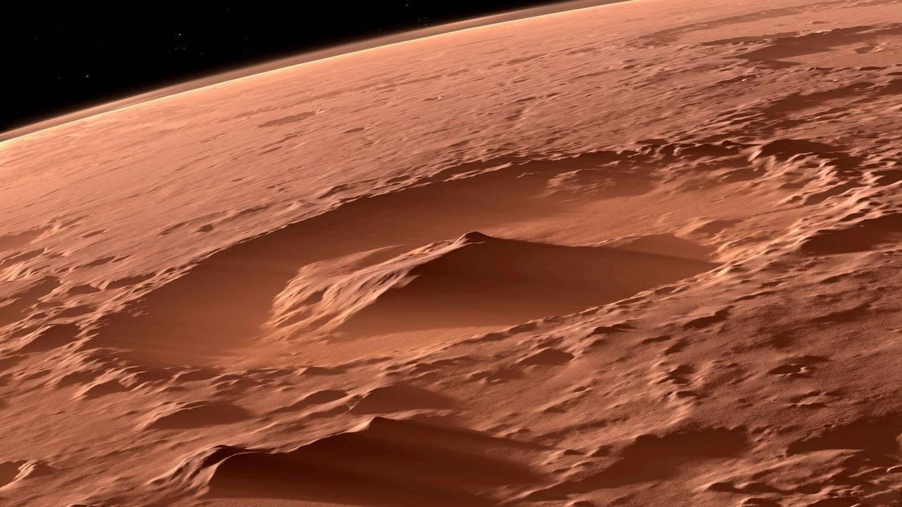 Planeta Marte. ULUITOAREA Imagine care a Pus Internetul PE JAR