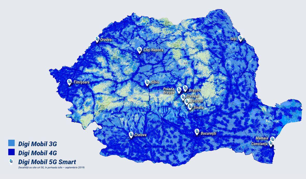 RCS & RDS. Vestea SURPRIZA care va BUCURA Clientii Romani acoperire 5G