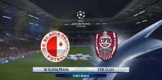 SLAVIA PRAGA - CFR CLUJ LIVE DIGISPORT 1 CHAMPIONS LEAGUE