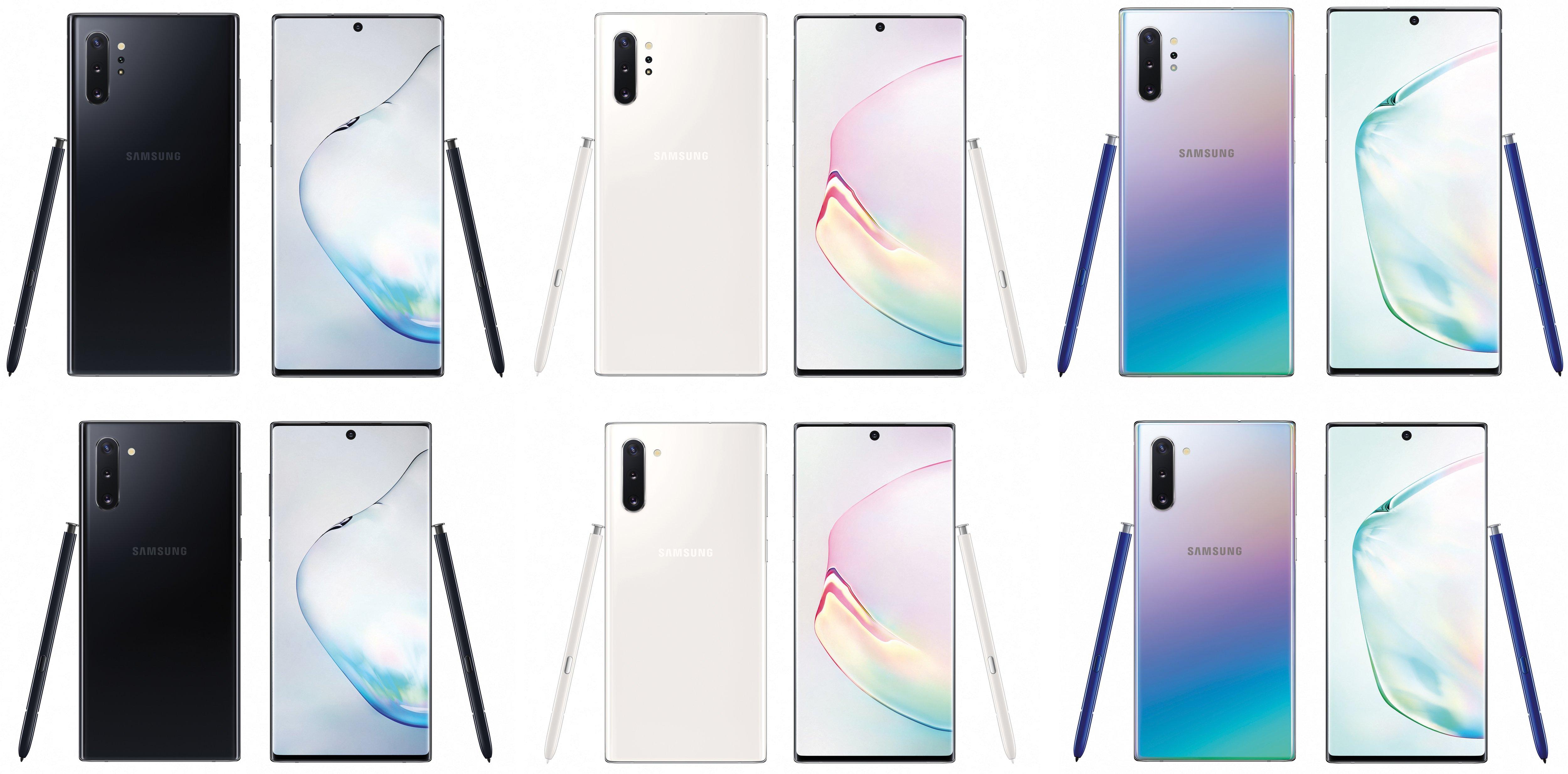 Samsung GALAXY NOTE 10 IMPRESIONEAZA intr-o noua Imagine culori