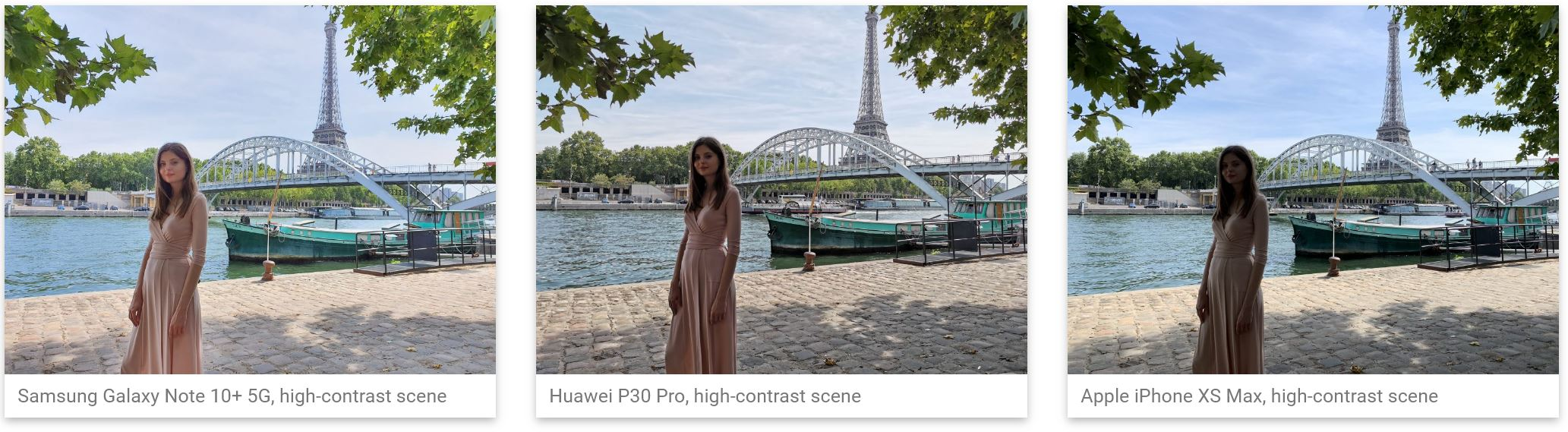 Samsung GALAXY NOTE 10 Plus, Camera ce UMILESTE Huawei si iPhone comparatie iphone