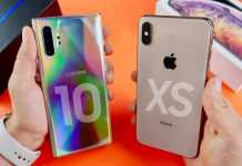Samsung GALAXY NOTE 10 Plus DISTRUGE iPhone XS Max (VIDEO)