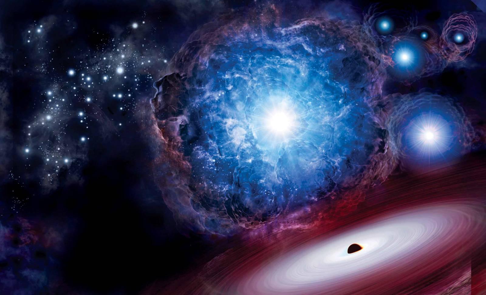 Supernova. Imaginea INCREDIBILA cu MOARTEA unei MARI Stele