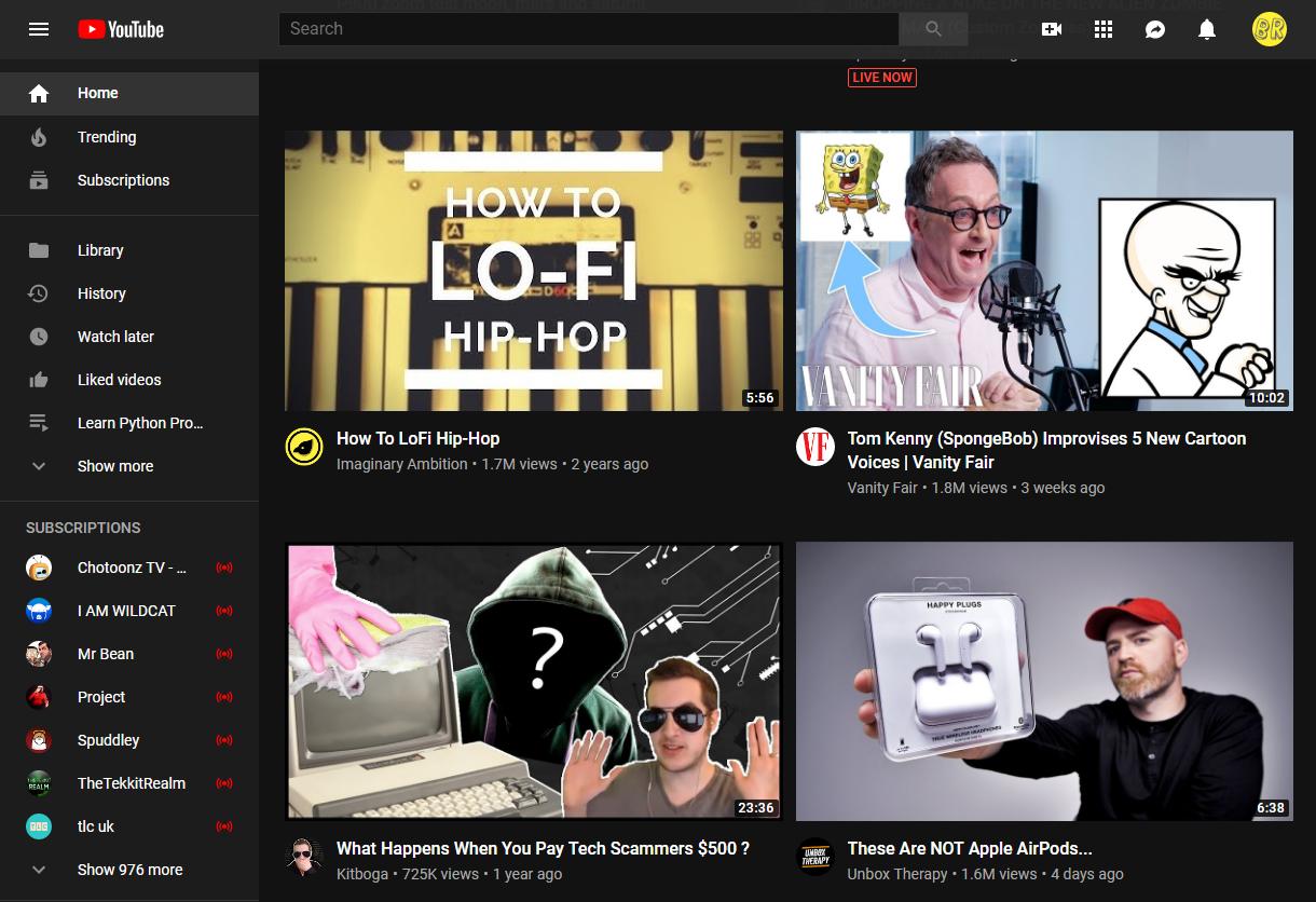 YouTube face o Schimbare e care Utilizatorii deja o URASC interfata