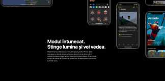 ASA ACTIVEZI noul DARK MODE din iOS 13 pe iPhone, iPod Touch