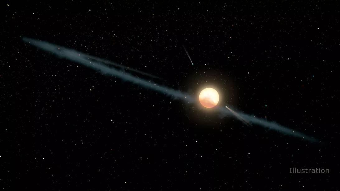 Aceasta STEA CIUDATA i-a UIMIT si pe Cercetatorii de la NASA ilustratie