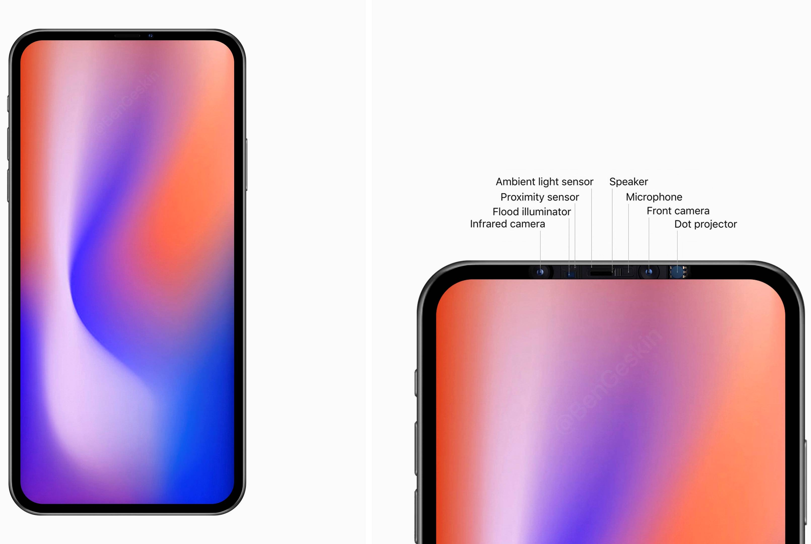 Apple prototip iphone fara face id