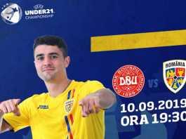 DANEMARCA U21 - ROMANIA U21 LIVE PRO X PRELIMINARII EUR 2021