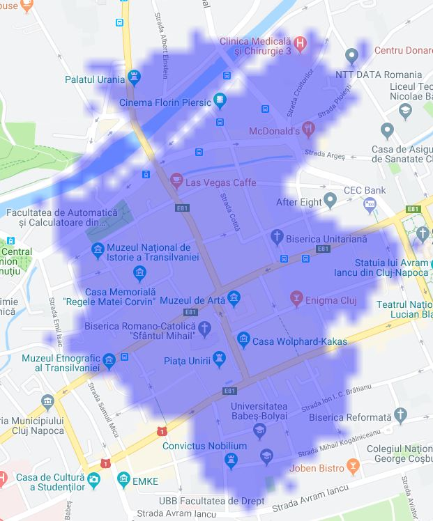 Digi Mobil acoperire 5G Cluj Napoca