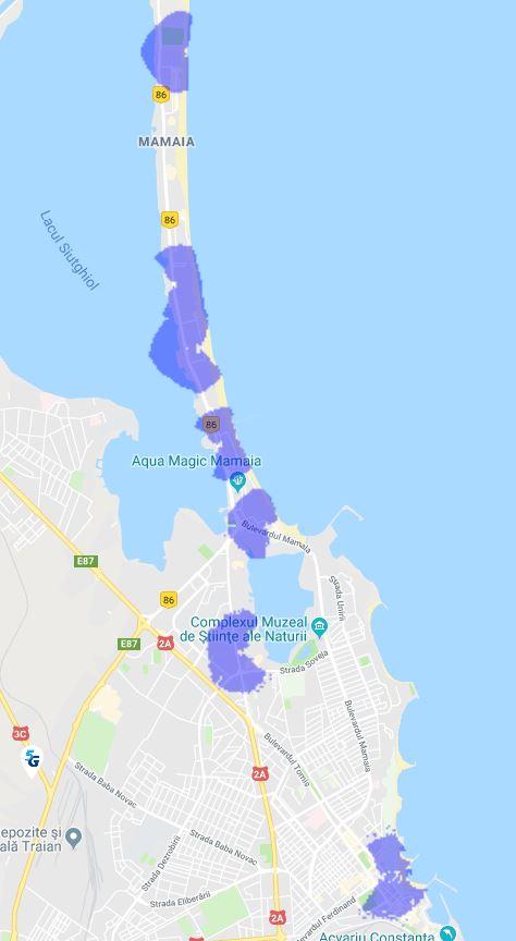 Digi Mobil acoperire 5G Mamaia, Constanta