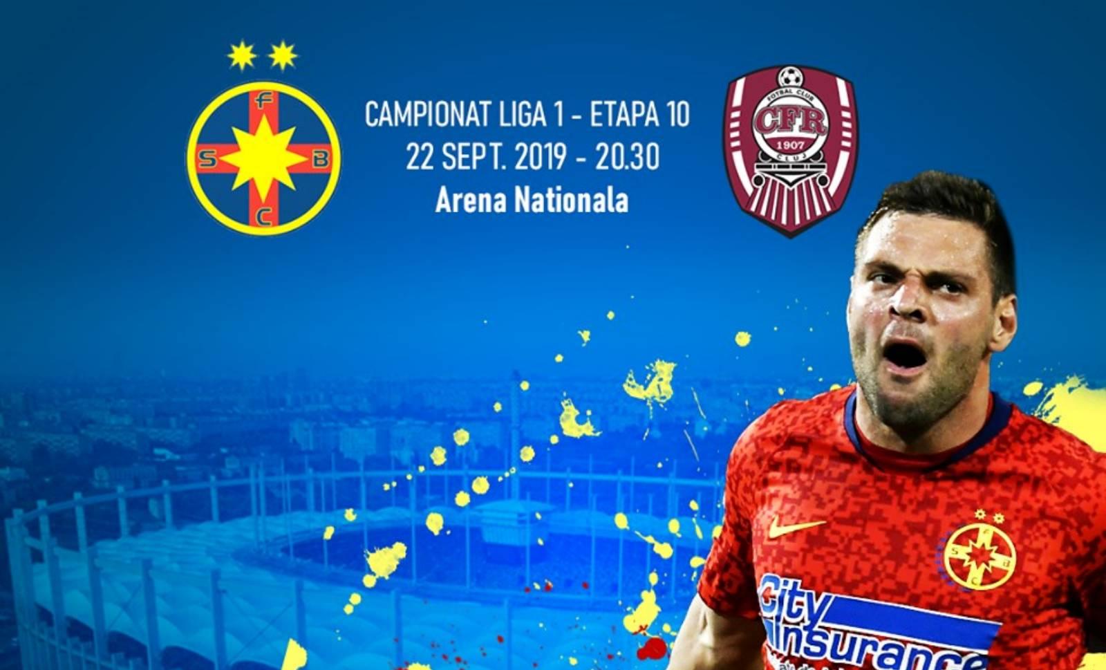 FCSB - CFR CLUJ LIVE DIGISPORT LIGA 1 FOTBAL ROMANIA